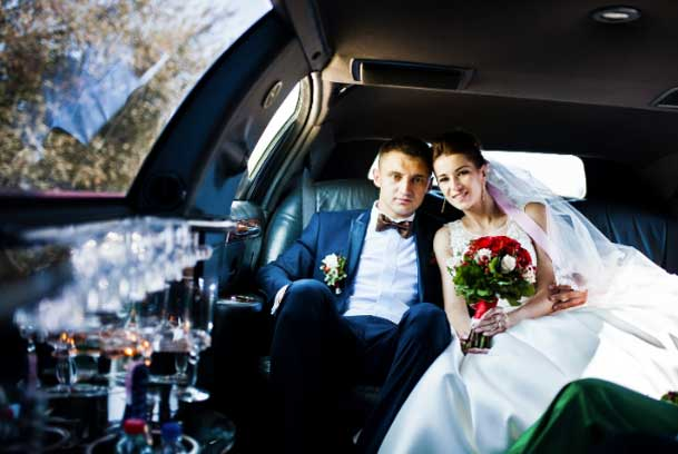 wedding limo party bus transportation